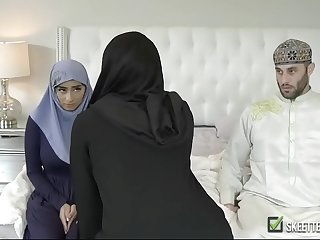 Hot Mr Big arabian queen fucked hard