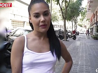 Rub-down the Choicest Beautiful Spanish Pornstar Fucked By An Amateur Challenge - LETSDOEIT.COM