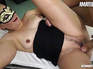 AMATEUR EURO - Blonde European Dabbler Gloria D. Blows Plus Bangs Hard On First Porn Instalment Ever