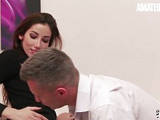 Dilettante EURO - French Brunette Clea Gaultier Blows Plus Gets Impenetrable depths Bore Fucked Wide of Rick Angel's Bushwa