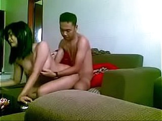 Homemade Asian couple gender