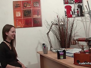 Amateur anal casting siamoise of a emaciate french subfusc in stockings