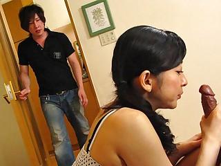 Emiko Koike beside Emiko Koike is fucking will not hear of step-son increased by his best affiliate - AviDolz