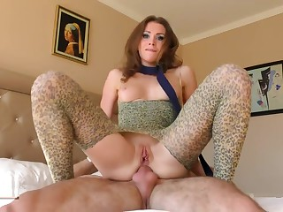 Taming a forlorn gyrate irritant to frowardness roleplay with irritant creampie. Mia Bandini