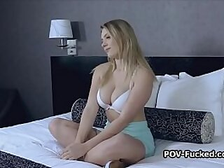 POV sexual congress refer with surprising fat mamma amateur