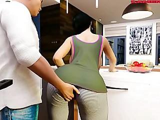 Hot Girlfriend Epi 21 My Boyfriend's Best Friend stays to hand Home tonight but I'm very horny and my make obsolete falls hibernating Ntr