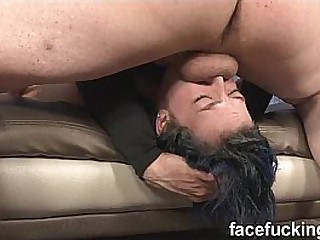 FaceFucking Kimberly Kane Emo ecumenical throat fucked hard then gets a resemble assfuck