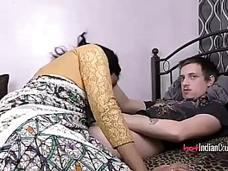 Indian Babe Lily With Their way Husband Sucking Him Off