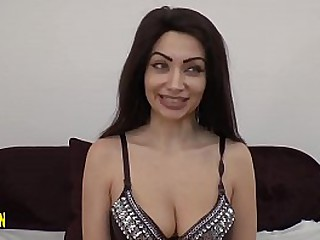 Beautiful coupled with ardent young Arab, most assuredly vicious coupled with ail be fitting of sex