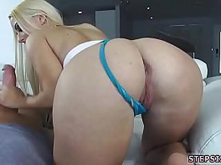 Hardcore lesbian eat in foreign lands fasten up Aspen Romanoff petite squirt