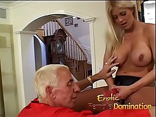 This dominatrix likes hardcore anal coitus as A much as A pegging her slave.